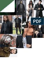 Warlock Costume Moodboard
