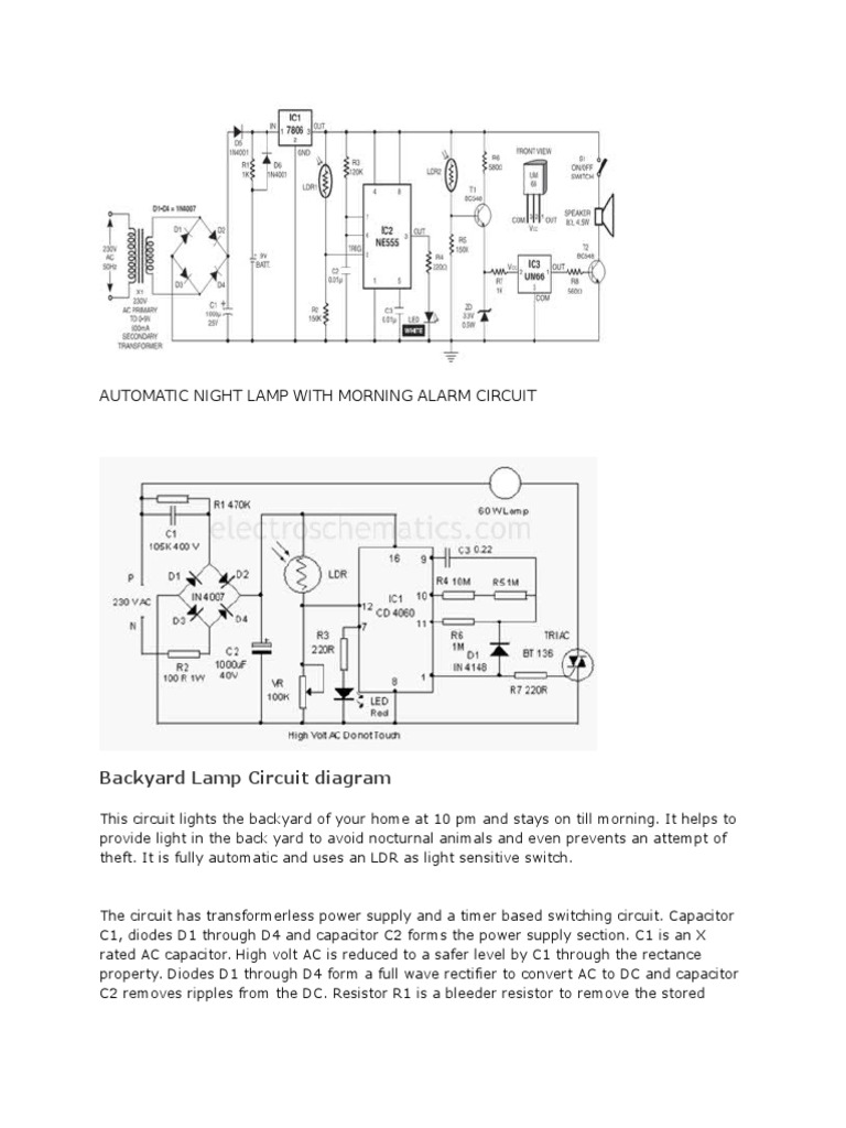 Circuit Projects | Relay | Power Supply