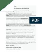 Qué es la ISO 9004
