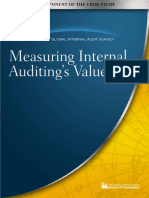 Measuring IA Value 2010 CBOK