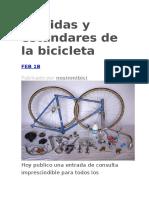 estandares bici