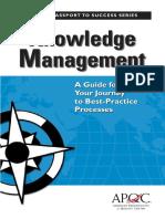 Columbia Knowledge Management APQC Book