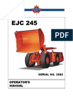 Operators Manual EJC 245 SANDVIK