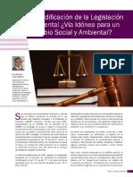 Articulo La Codificacion de La Legislacion Ambiental