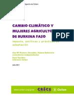 Rr Climate Change Women Farmers Burkina 130711 Es