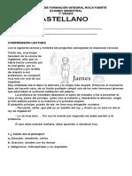 evaluación semestral Castellano Segundo