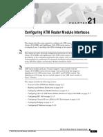 8500 ATM Router Module Configuring