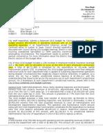 Nixa City Council 2016 Budget Letter