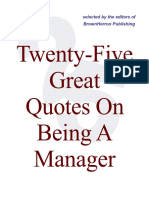 25 Quotes on Management