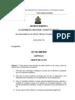 Ley de Amparo Honduras
