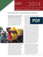 La innovación en la agricultura familiar