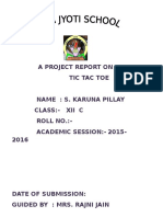 A Project Report