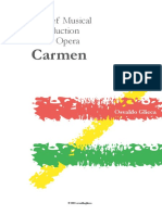 A Brief Musical Introduction to the Opera Carmen