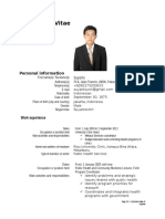 Curriculum Vitae Suyanto