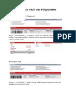 Detail Tiket Dan Perjalanan