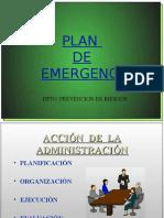 Charla Plan de Emergencia