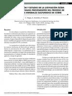 3 - Caracterizacion y Estudio de La Lixiviacion Acida de Relaves Antiguos Provenientes Del Proceso de Flotacion Demineralessulfuradosde Cobre - c Vargas a Arancibia p Navarro