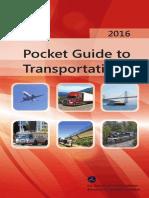Pocket Guide to Transportation 2016