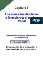 05_Los Mercados de Bienes y Financieros El Modelo is-LM