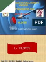 MÓDULO N° 04 - PILOTES