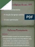 Reforma e Protestantismo 8º Ano