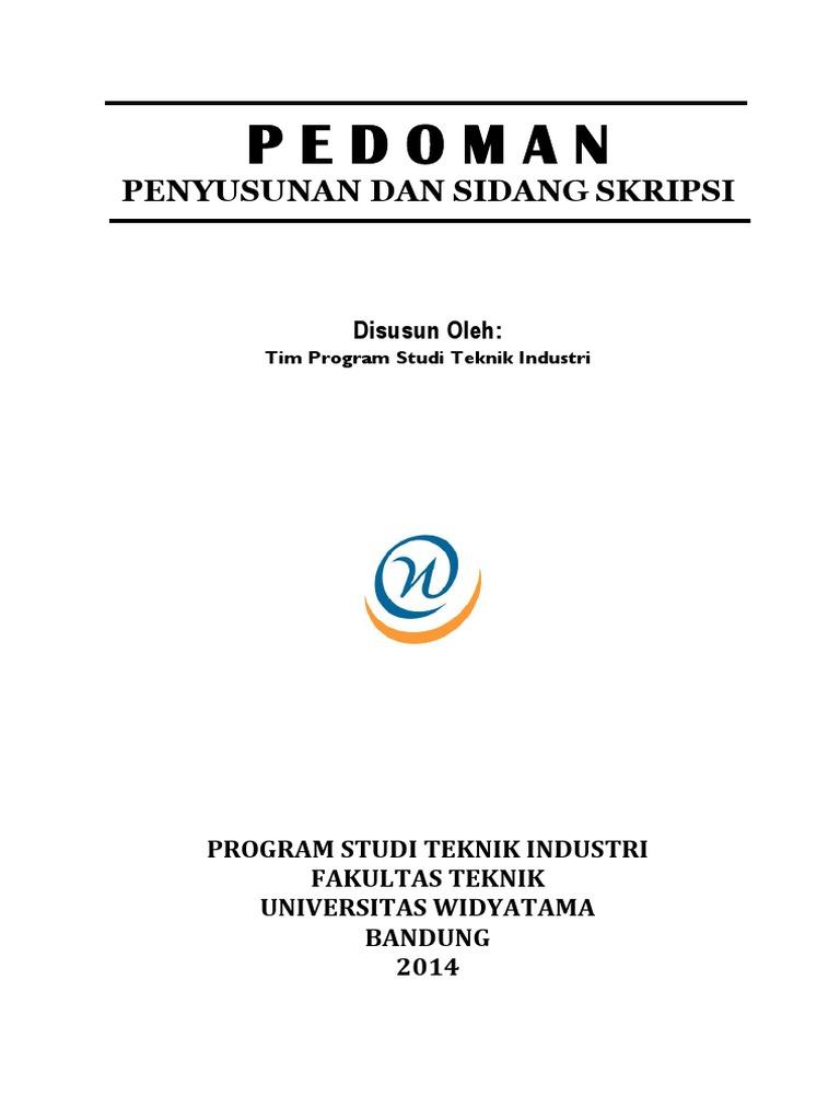 Pedoman Skripsi 2014 Revisi