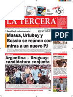 Diario La Tercera 08.01.2016