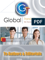 To Authors & Editorials,Global Translations