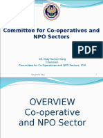 Overview of Commitee for Cooperatives NPO Sector
