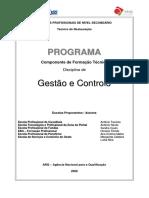 Programa - Gestão e Controlo