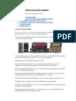 Control de Dispositivos Por Puerto Paralel1