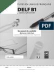 Livret Candidat Delf Pro b1