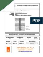 DTG EE BT C Rk 01 Longitud de Empotramiento RA