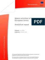 Space Activities of the European Union. Analytical Report
