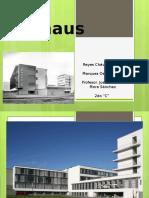 Bauhaus, análisis estructural