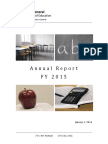 CPS OIG FY 2015 Annual Report