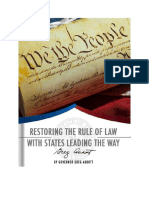 Greg Abbott - Restoring the Rule of Law