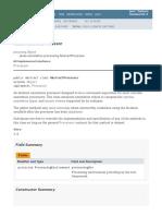 AbstractProcessor (Java Platform SE 8 )