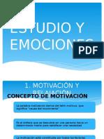 Estudio y Emociones