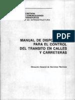 manual de señalamientos viales
