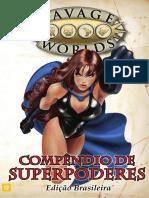 Savage Worlds - Rppeg-0004 - Compêndio de Superpoderes 2a(v0.1)