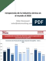 Perspectivas de La Industria Cárnica en El Mundo1