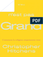 Hitchens, Christopher - Dieu n'Est Pas Grand
