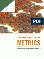 Metrics by Vincanne Adams
