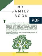 My Family History Book