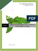 Manual del cultivo de la stevia para agricultores