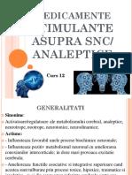 Curs 12 Stimulante SNC Dec.2015 ch farma an 4