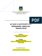 Kursus Kepimpinan Pengawas 2016