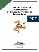 Italiano-Il Gattopardo - Relazione Completa (1)