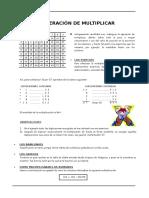 1er. año - ARIT - Guia 5 - Multiplicación en Z+